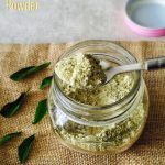 Curry Leaves Powder Recipe for Toddlers and Kids 1