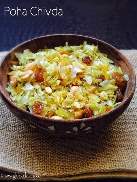 Poha Chivda Recipe for Toddlers and Kids 1