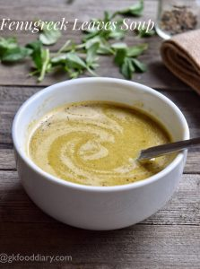 Fenugreek-Leaves-Soup-Recipe