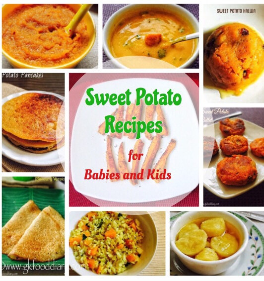 How to bake sweet potato for baby puree