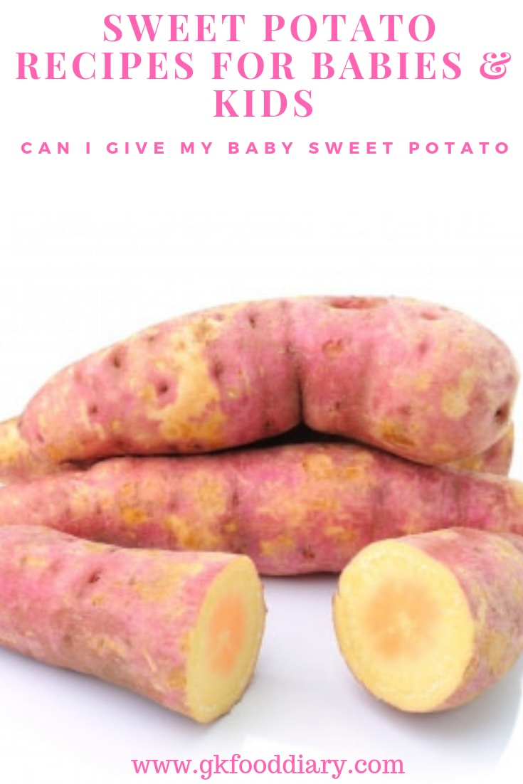 Can I give My Baby Sweet Potato
