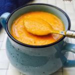 Carrot Tomato Soup Recipe for Babies, Toddlers and Kids