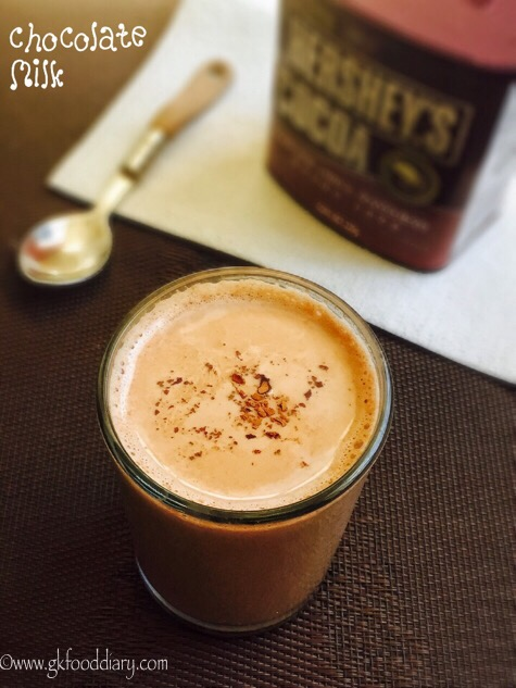 Chocolate Milk Recipe for toddlers and kids 2