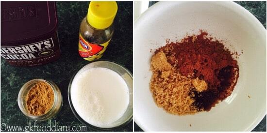 Chocolate Milk Recipe step 1