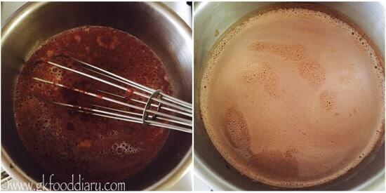 step 3 chocolate milt