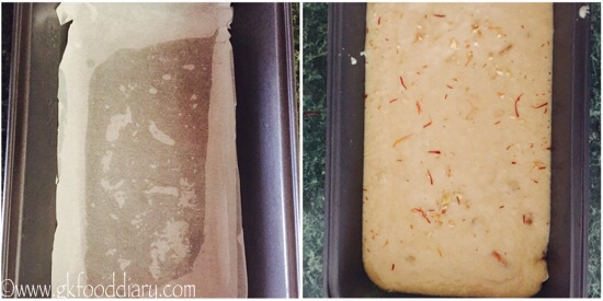 Eggless Rava Cake -step6