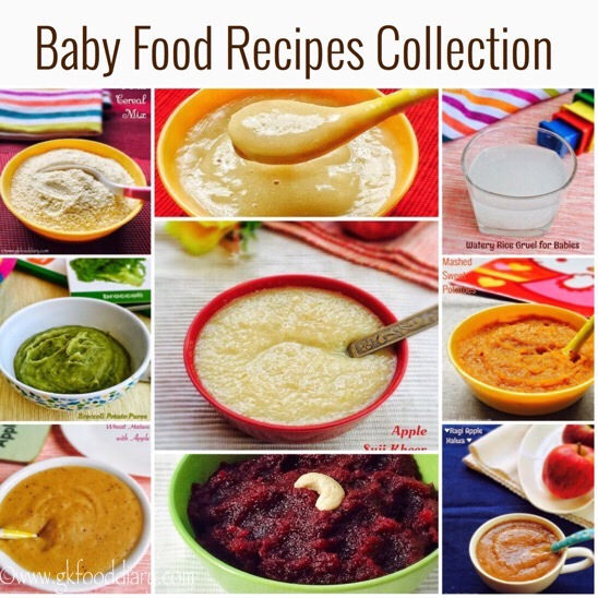 Homemade Baby Food recipe Collection