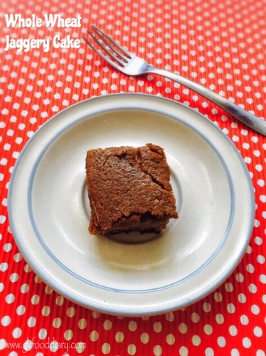 Whole Wheat Jaggery Cake Recipe for Toddlers and Kids 1