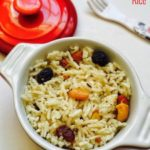 Dry Fruits Rice Recipe for Toddlers and Kids