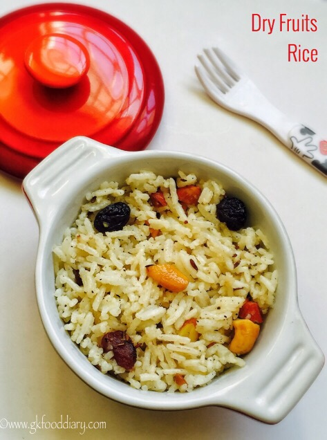 Dry Fruits Rice Recipe