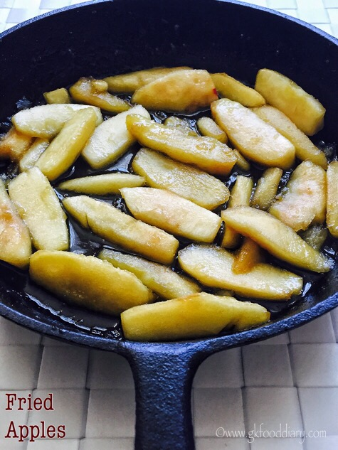 Fried Apples Recipe for Babies
