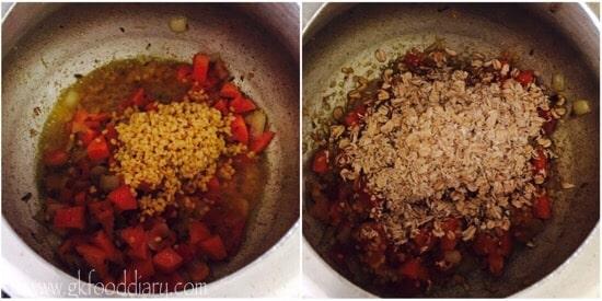 Oats Khichdi Recipe step 5