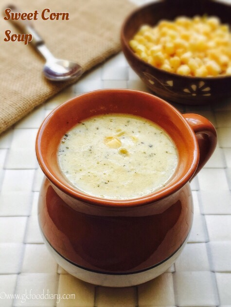 Sweet Corn Soup Recipes