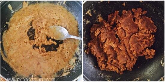 Wheat Halwa recipe step 3