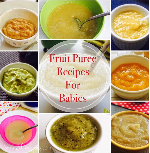 Fruit Puree Recipes for Babies