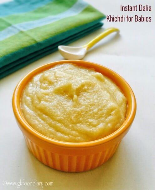 Instant Dalia khichdi Porridge