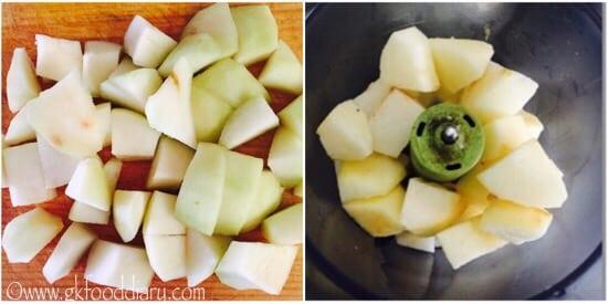 Pear Puree Recipe Step 2