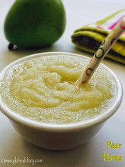 Pear Puree for Babies