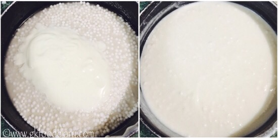 Sabudhana Idli Recipe Step 2