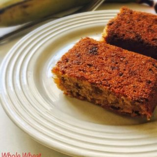 Whole Wheat Banana Cake Recipe for Toddlers and Kids 1