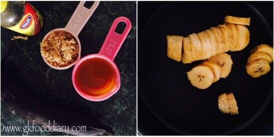 Whole Wheat Banana Cake Recipe step 2