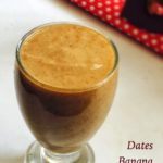 Dates Banana Milkshake Recipe