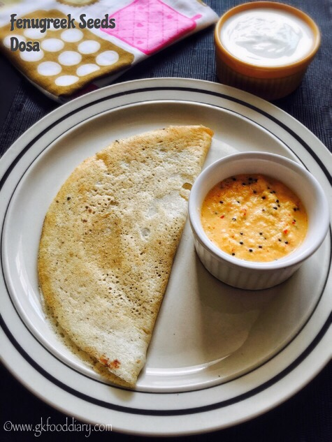 Fenugreek Seeds Dosa Recipe for Toddlers and Kids | Vendhaya Dosa 1