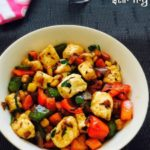 Paneer Stir Fry (with vegetables) Recipe Toddlers Kids