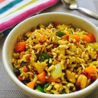 Puffed Rice Upma Recipe for Toddlers and Kids 1