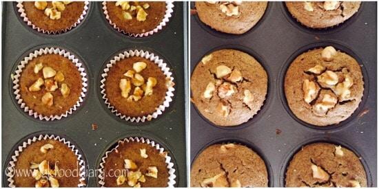 Ragi Banana Muffins Step 5