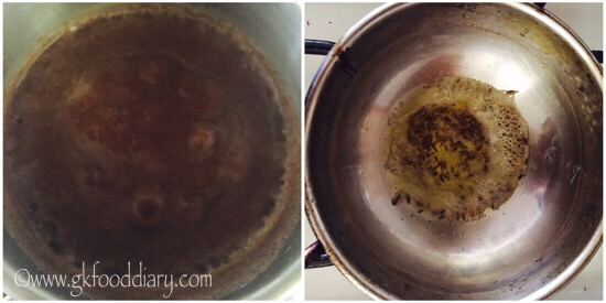 Ragi Buttermilk Recipe Step 1