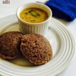 Ragi Rava Idli Recipe for Babies, Toddlers and Kids