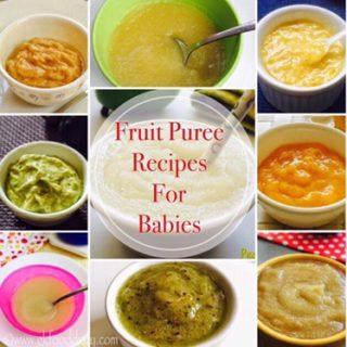 Fruit Purees for Babies 2
