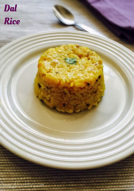 Dal Rice Recipe for Babies