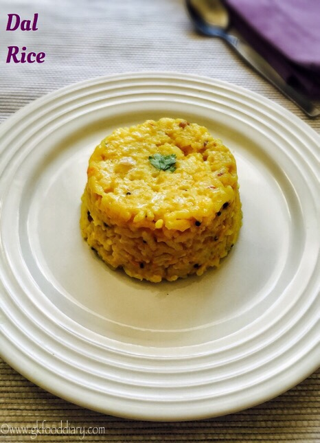 Dal Rice Recipe for Babies, Toddlers and Kids 1
