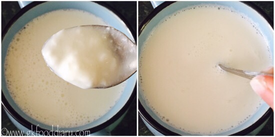 Homemade Yogurt curd Step 2