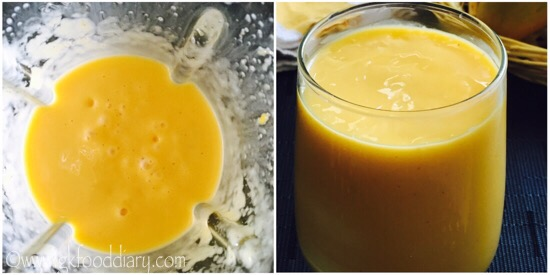 Mango Milkshake Recipe Step 4