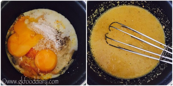 Oats Egg Omelette Recipe Step 1