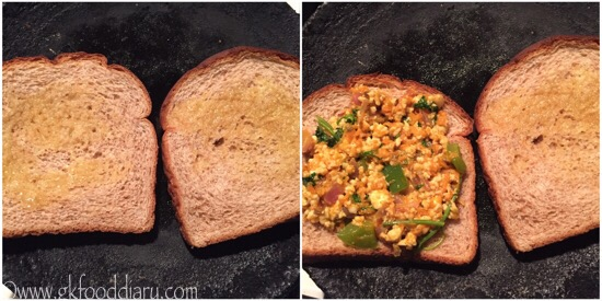 Paneer Sandwich Recipe Step 6