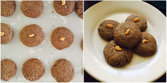 Ragi Cookies Recipe for Toddlers and kids | Homemade Finger Millet Cookie 9