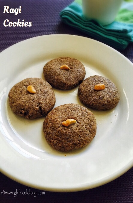 Ragi Cookies Recipe for Toddlers and kids | Homemade Finger Millet Cookie 2