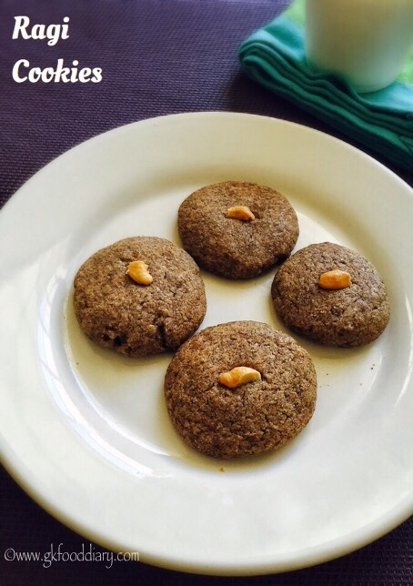Ragi Cookies Recipe for Toddlers and kids | Homemade Finger Millet Cookie 4