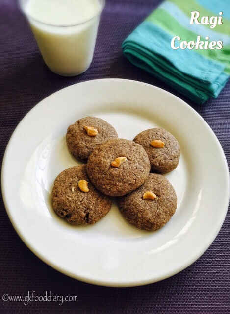 Ragi Cookies Recipe for Toddlers and kids | Homemade Finger Millet Cookie 10