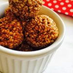 Sesame Ladoo Recipe for Toddlers ,Kids