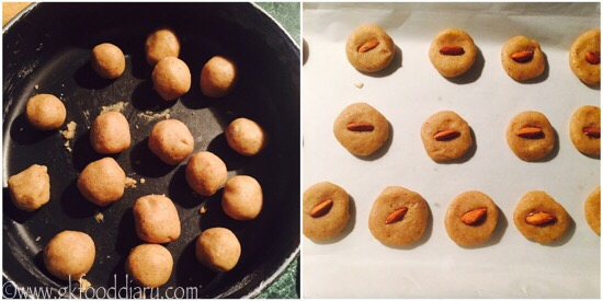 Whole Wheat Almond Cookies Recipe Step 5
