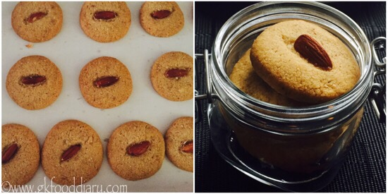 Whole Wheat Almond Cookies Recipe Step 6