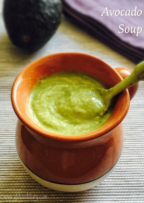 Avocado Soup Recipe for Babies