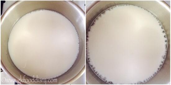 Chocolate Oats Recipe Step 1