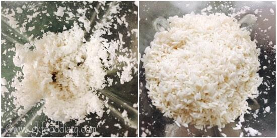Coconut Dosa Recipe Step 2