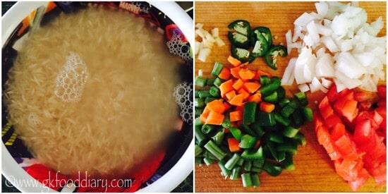 Masala Rice Recipe Step 1